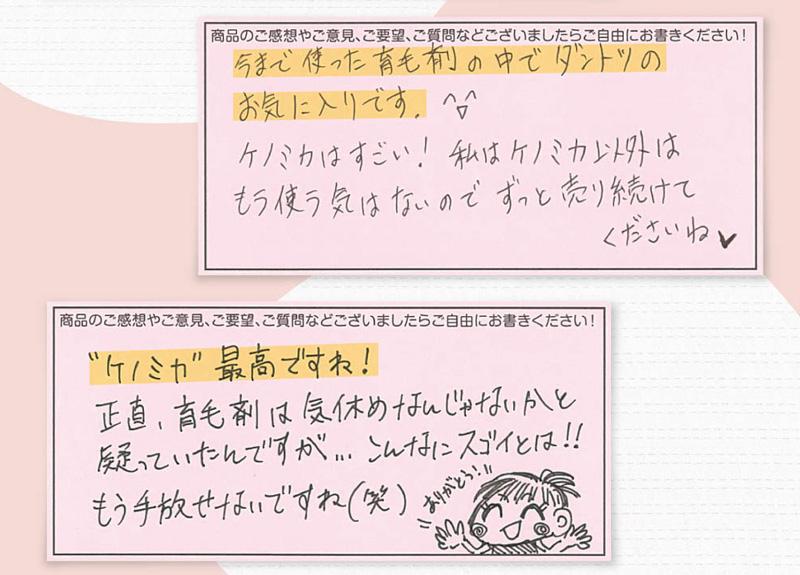 Kenomika(ケノミカ)公式口コミ
